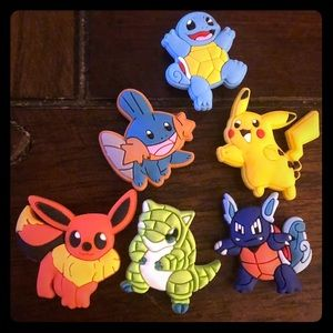 Pokemon crocs jibbets/charms